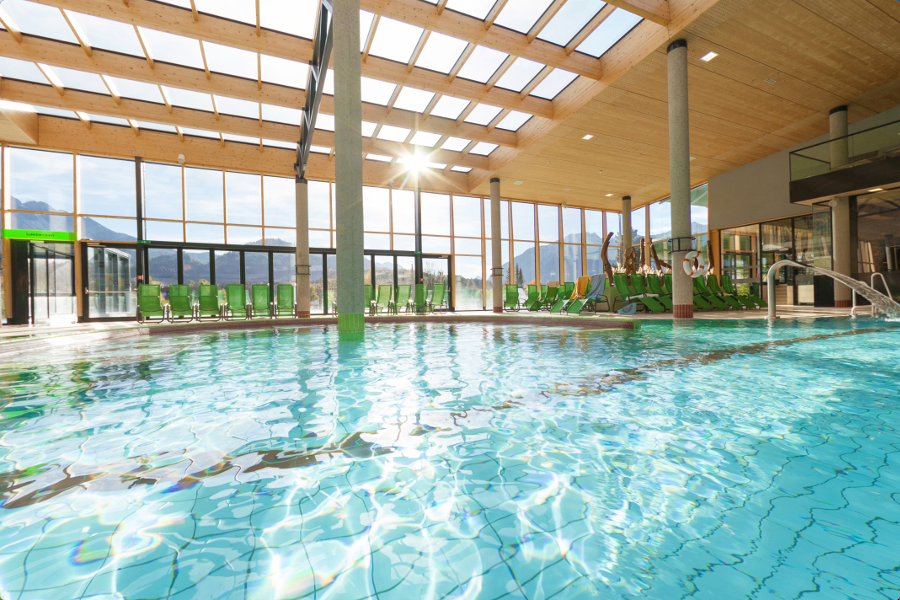 Ehrenberg Alpine Spa swimming hall | Reutte