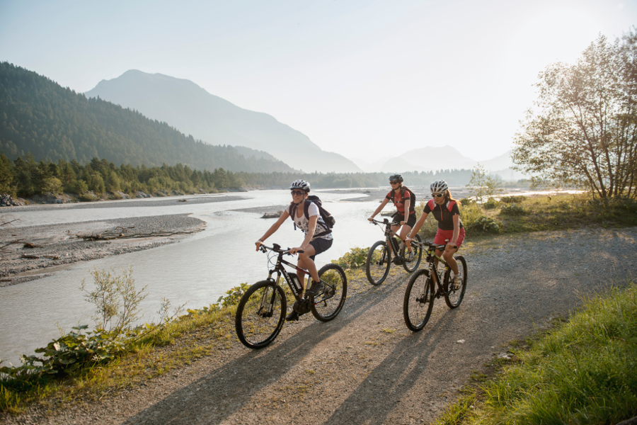 Bicycle and mountain bike trails | Reutte