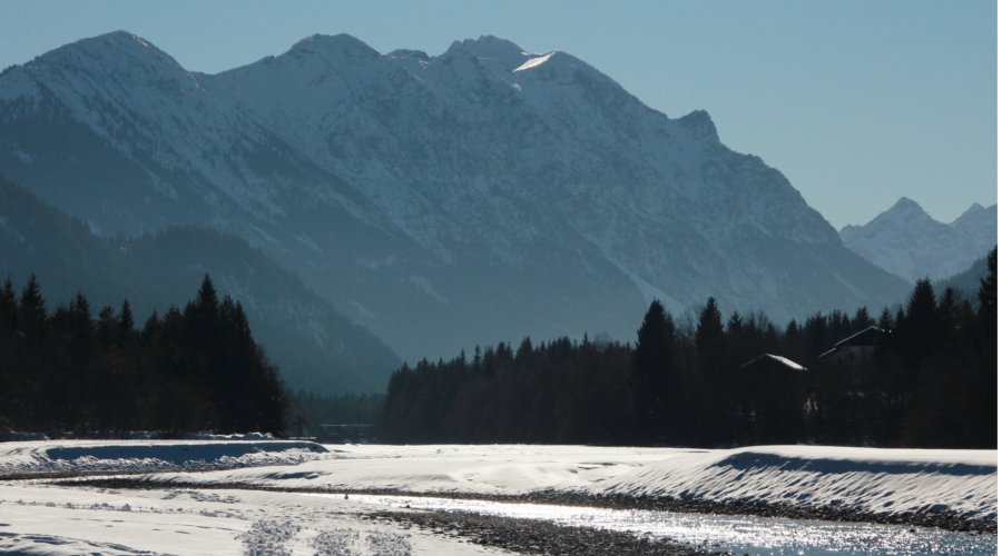 Winterwandern Tirol - Am Lech
