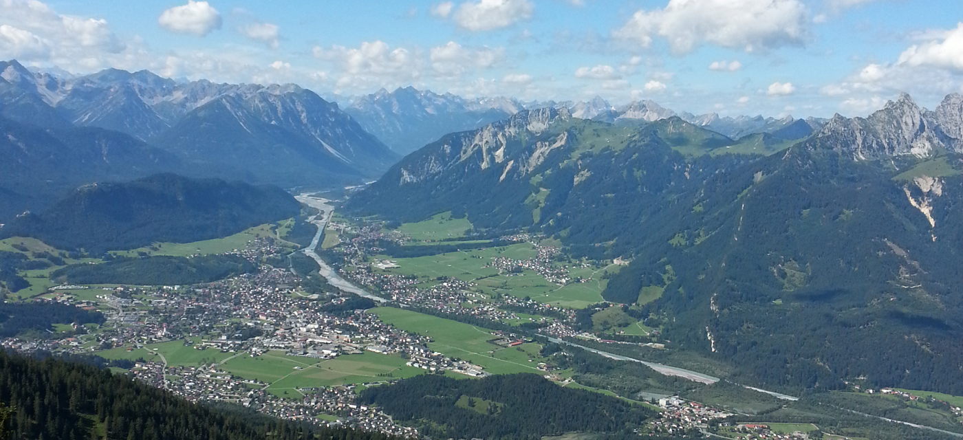 View hollow Reutte