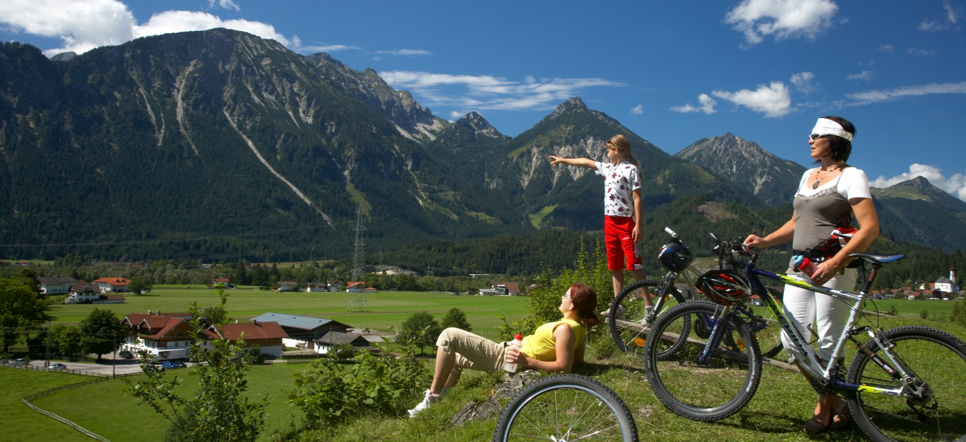 Cycling in the Nature Park Region | Reutte