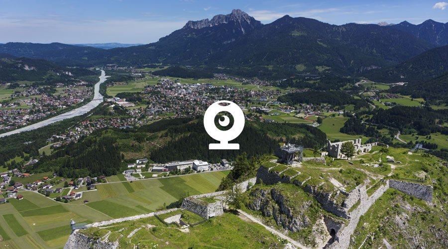 Webcam am Schlosskopf - Reutte.com